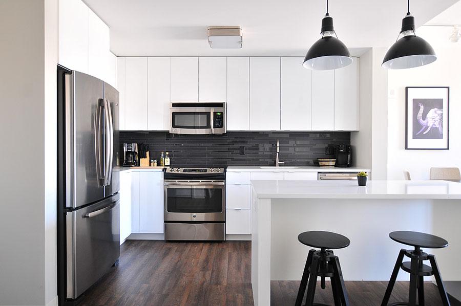 European framless kitchen cabinet designs