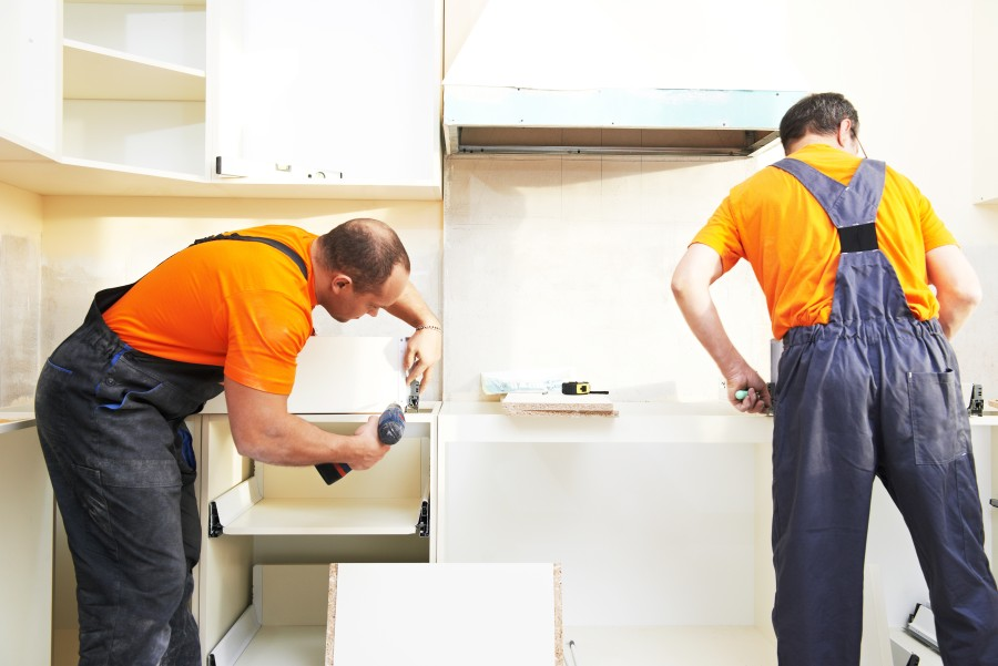 Save on assembly costs by ordering already-assembled cabinets