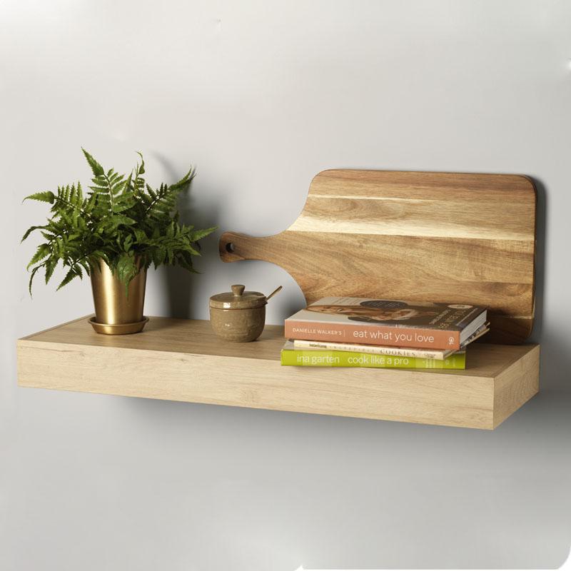 Conestoga Wood Floating Shelf Alternative