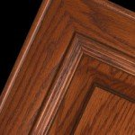 Wood: Red Oak Finish: Washington Cherry Glaze: Brown